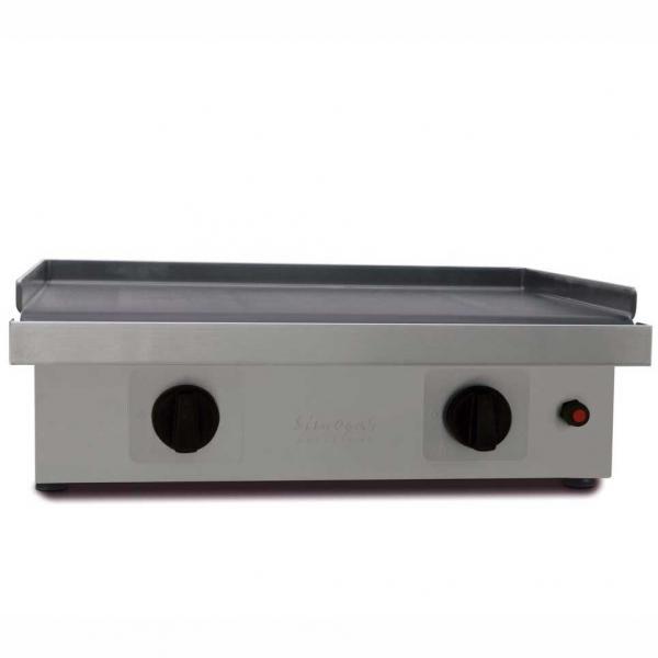 plancha silver 60 acier carbone : simogas plancha espagnole