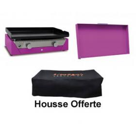 Pack Plancha Rainbow Violette  couvercle violet photo